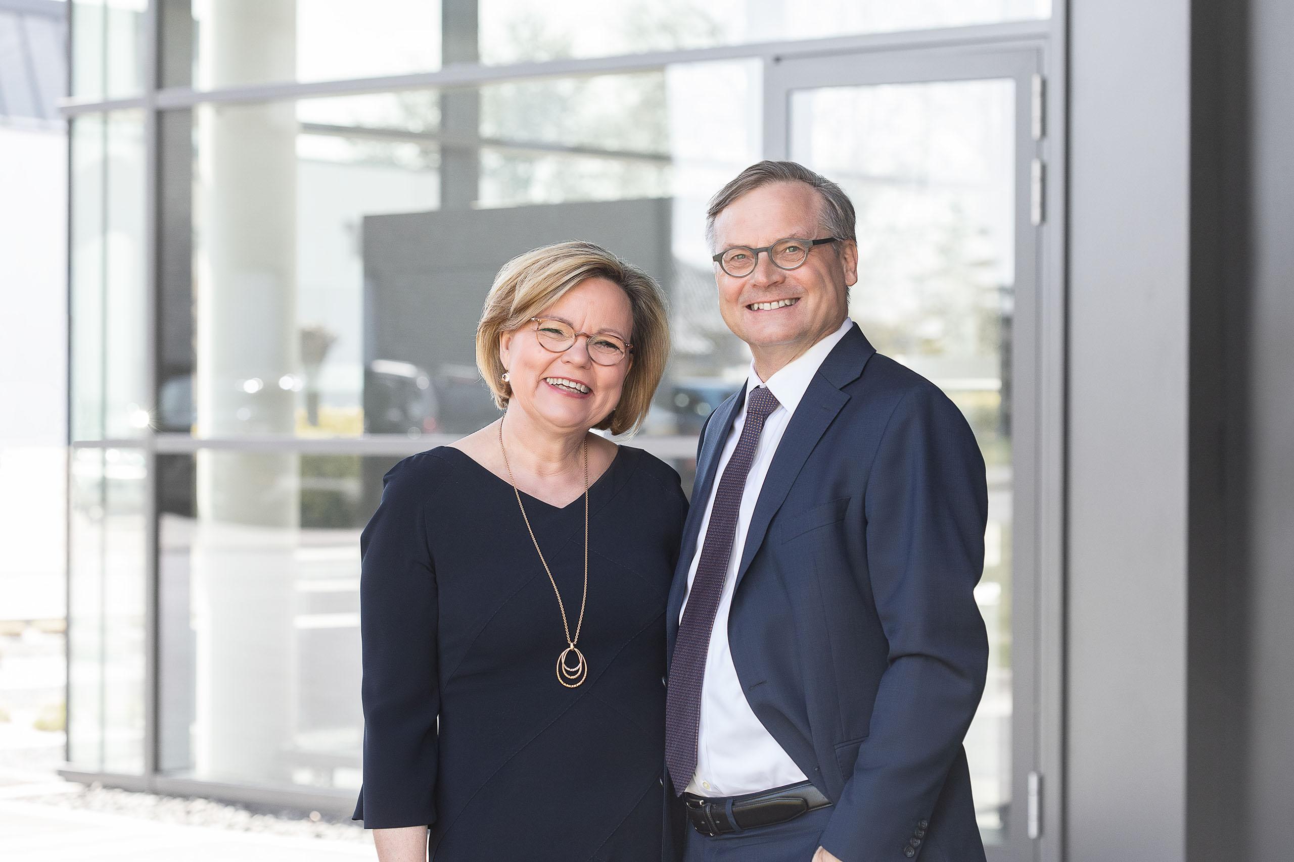 Geschäftsführende Gesellschafter: Ines Oberberg-Schnittke und Dr. Jürgen Schnittke